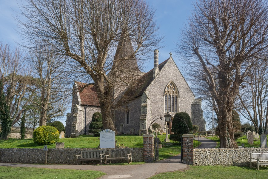 Church of St. Andrew Alfriston April 2018 01