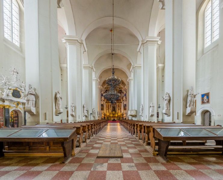 Church of St. Johns Interior 1, Vilnius, Lithuania - Diliff