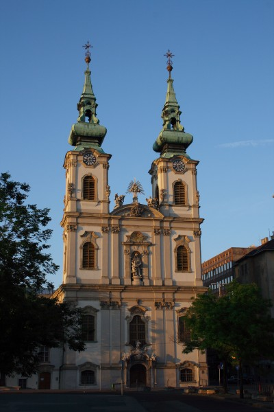 Church of St Anne in Budapest I. district