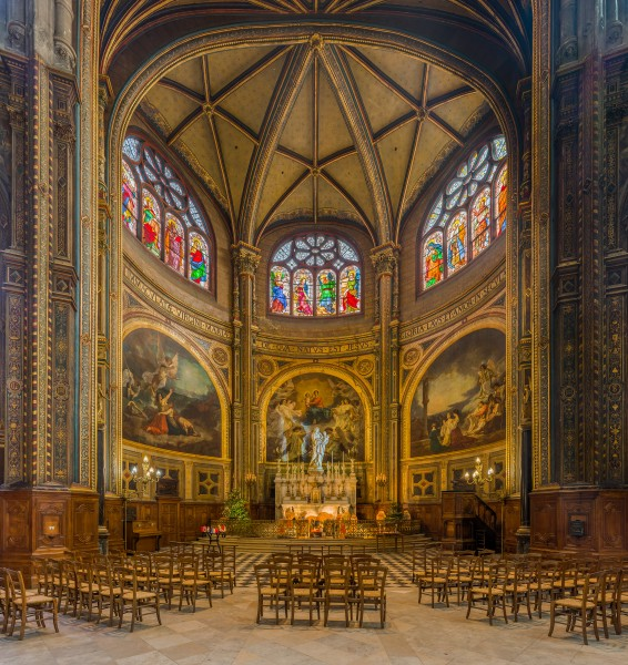 Church of St Eustace, Chapel of the Virgin Mary, Paris, France - Diliff