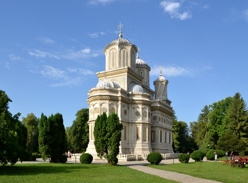 Church of the Dormition, Argeș monastery (by Pudelek) 02