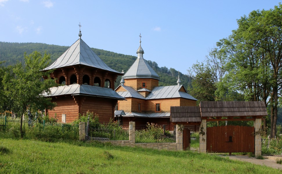 Church of the Dormition of the Theotokos Yaremche 2016 G1