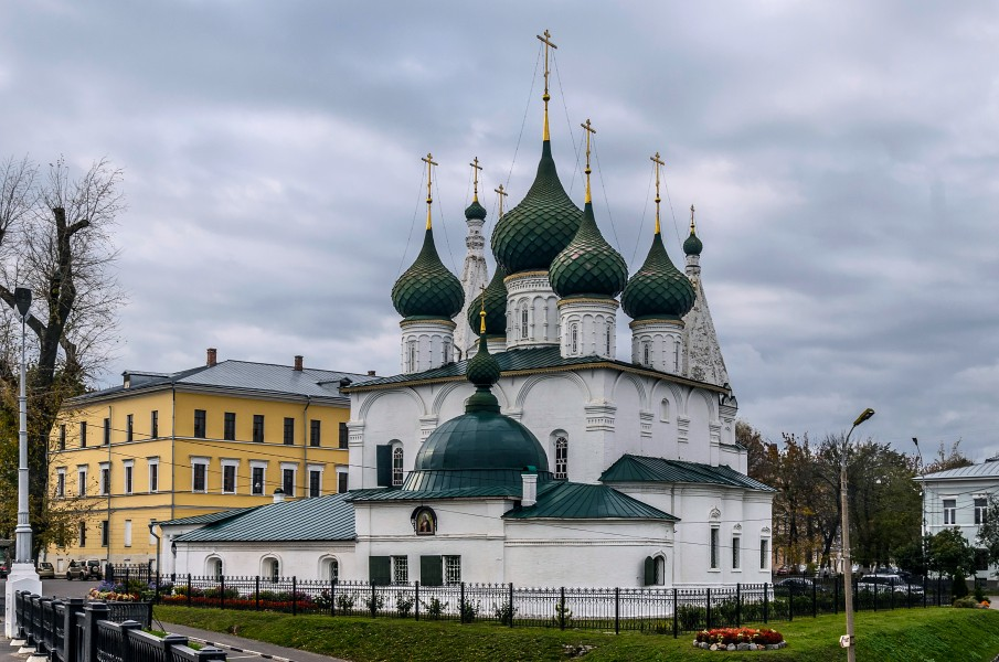 Church of the Saviour on the Town in Yaroslavl 01