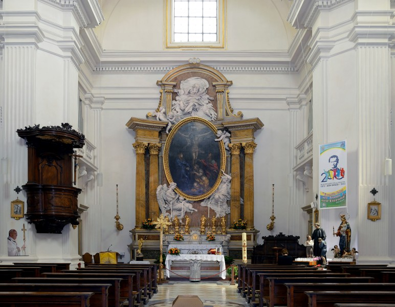 Church of Thomas of Villanova by Gianlorenzo Bernini