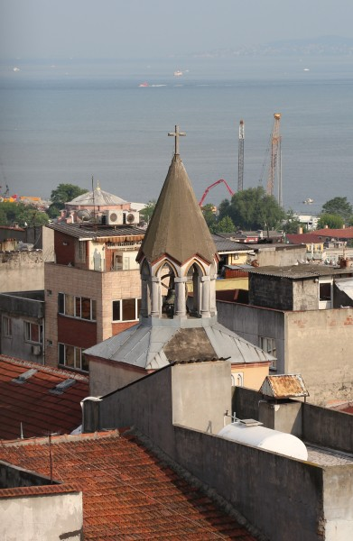 Church tower in Istanbul