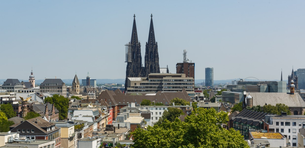 Cologne Germany Cologne-Cathedral-West-Facade-01