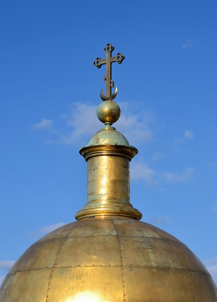 Cupola of a belfry of Saint Isaac's Cathedral