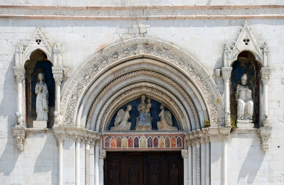 Decoration of Basilica of St. Benedict in Norcia