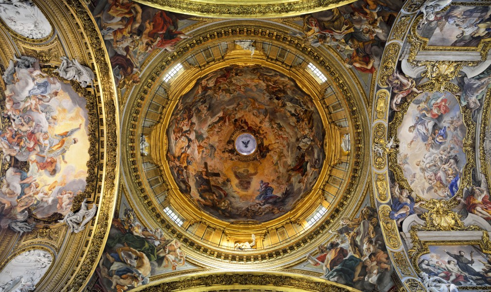 Dome of Church of the Gesù (Rome)