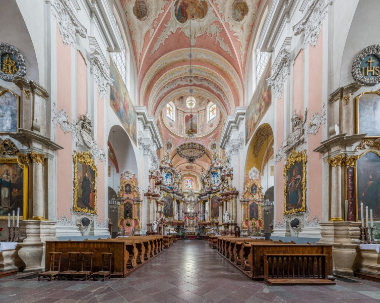 Dominican Church of the Holy Spirit, Vilnius, Lithuania - Diliff