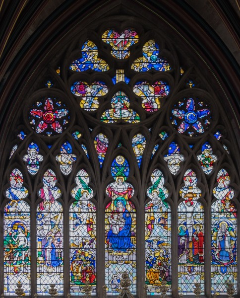 Exeter Cathedral Lady Chapel, east window
