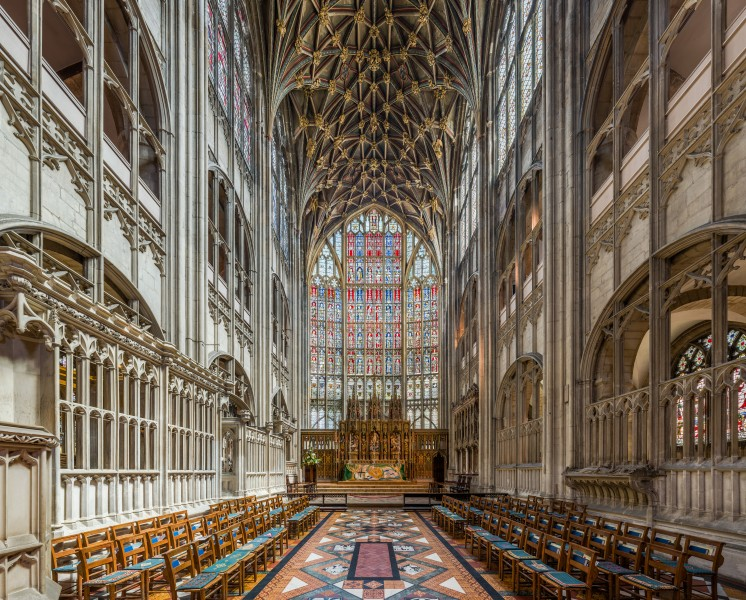 Gloucester Cathedral High Altar, Gloucestershire, UK - Diliff