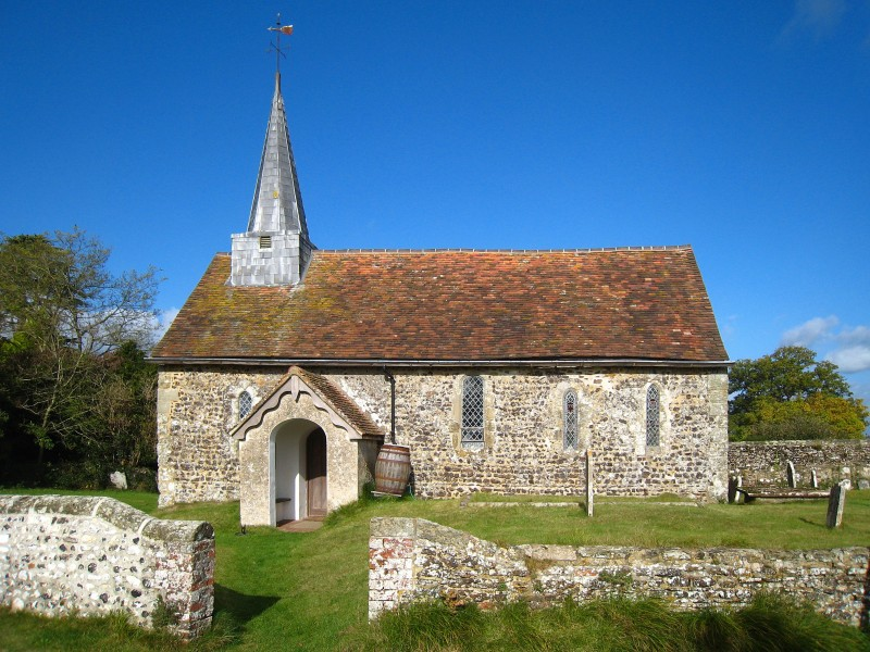 Greatham Church, exterior
