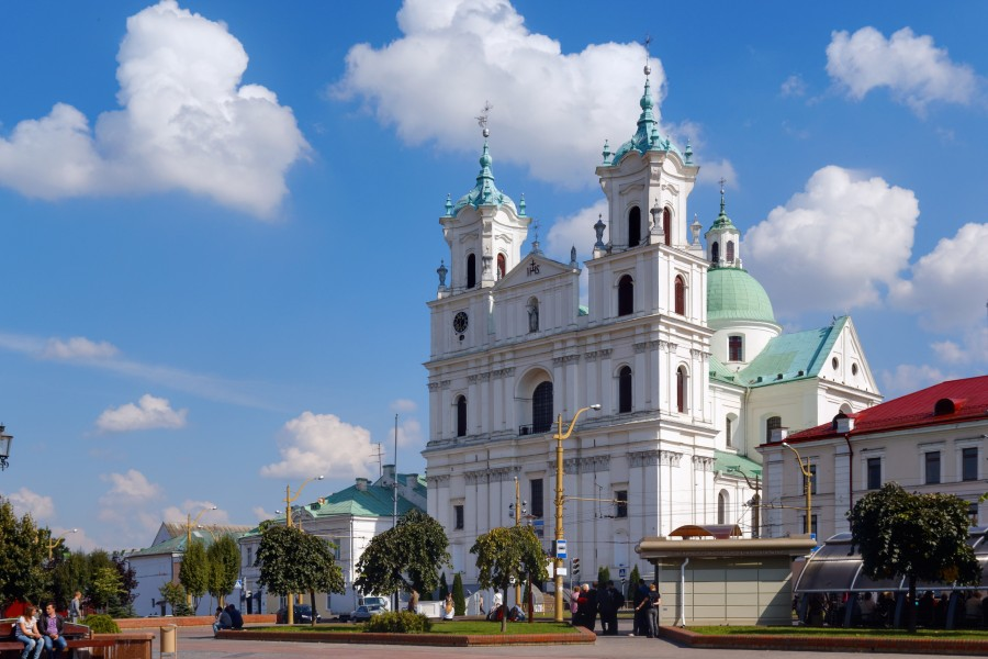 Grodno Saint Francis Xavier Cathedral IMG 1339 2175
