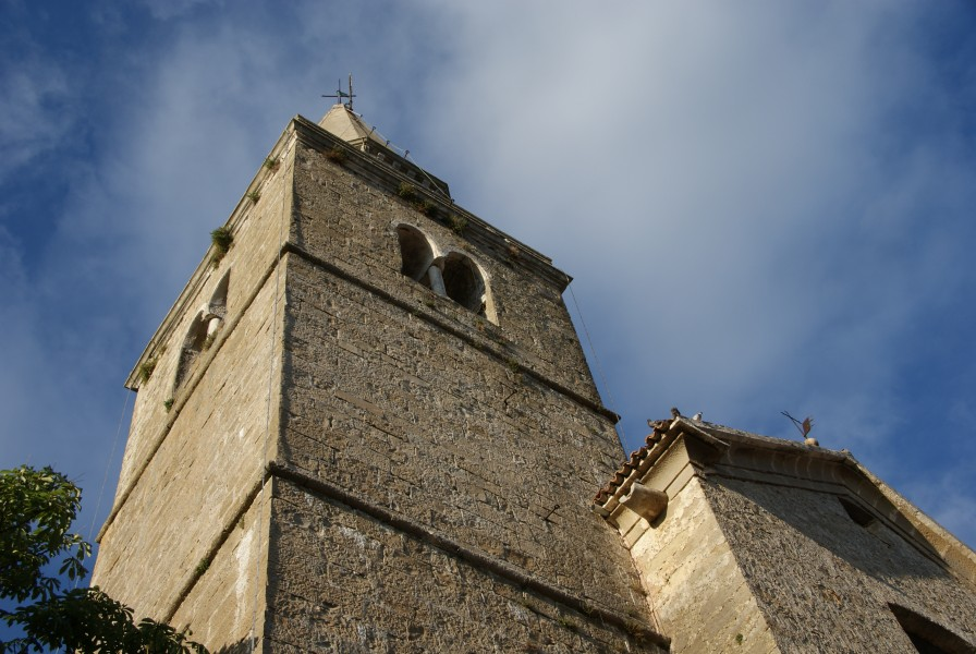 Groznjan Istria church tower