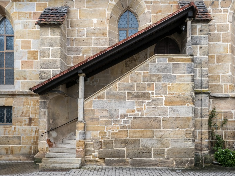 Hallstadt church stairs P4RM1413