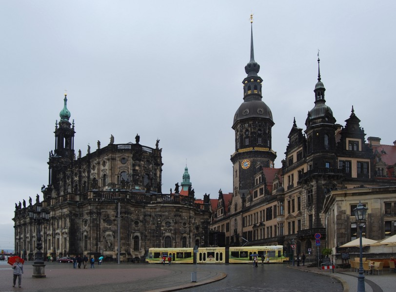 Hofkirche Dresden September 2014