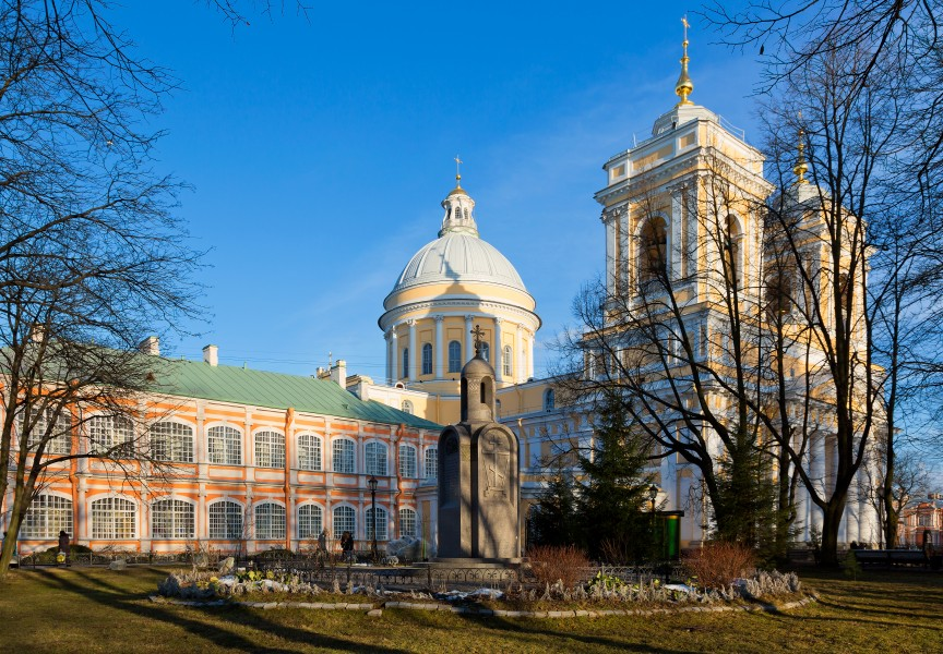 Holy Trinity Cathedral of Alexander Nevsky Lavra in SPB (01)