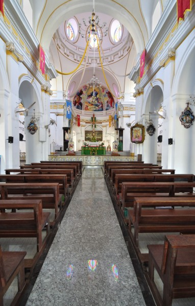 Inside Immaculate Conception Cathedral, Pondicherry