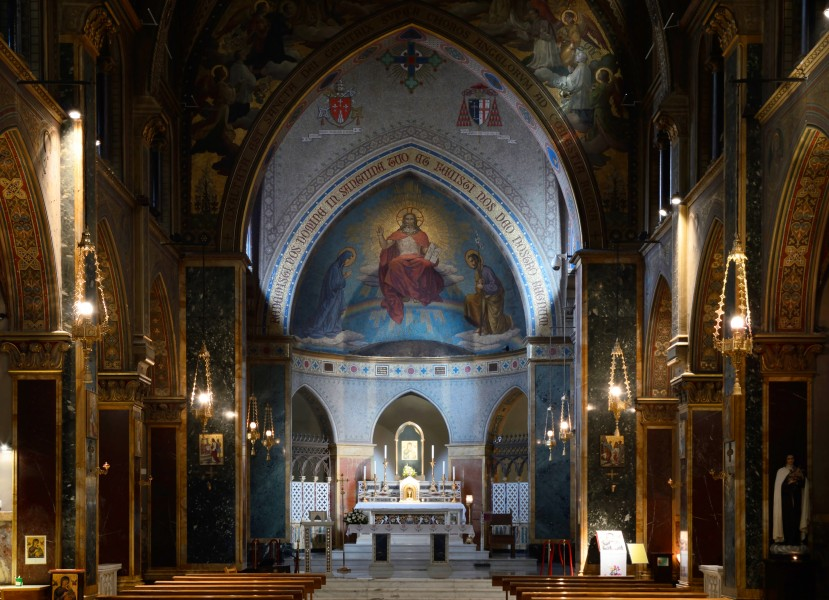 Interior of Church of St. Alphonsus Liguori, Roma