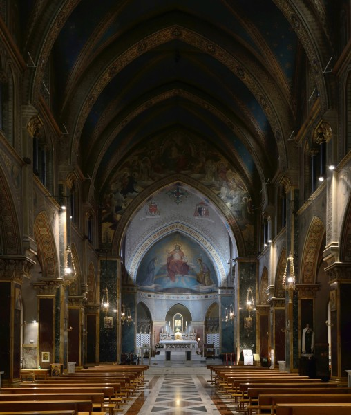 Interior of Church of St. Alphonsus Liguori, Rome