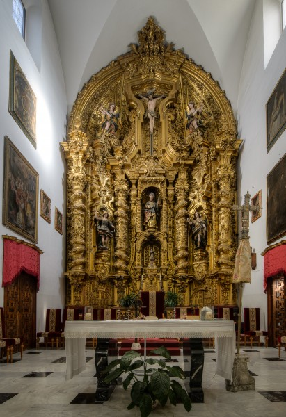 Interior of the Church of the Saint Andrew in Cordoba (Spain) - 02