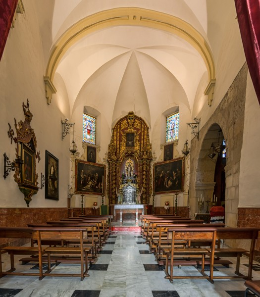 Interior of the Church of the Saint Andrew in Cordoba (Spain) - 03