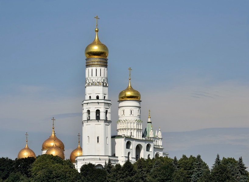 Ivan the Great Bell Tower in Moscow Kremlin 1