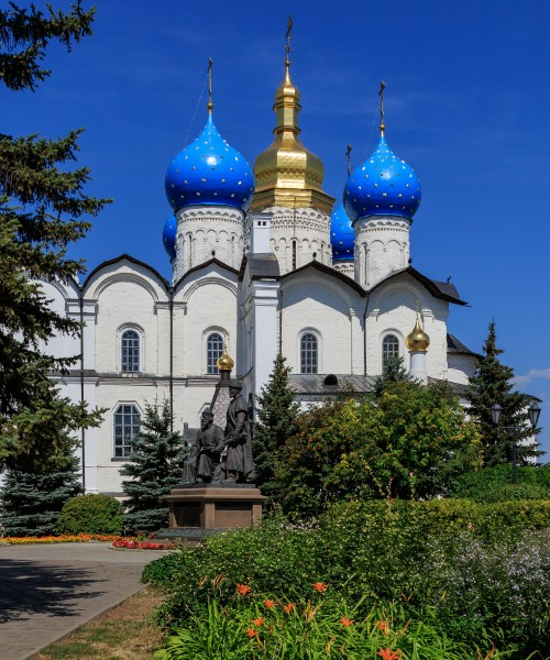 Kazan Kremlin Annunciation Cathedral 08-2016