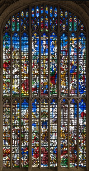 King's College Chapel, Cambridge - The Great East Window