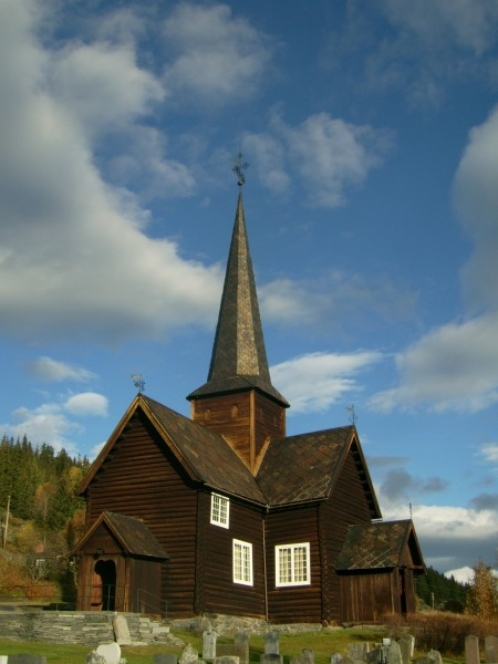 Kvikne church, Nord-Fron, Norway