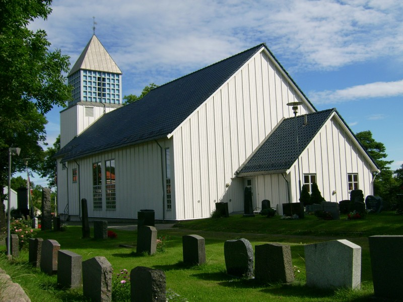 Langesund church, Bamble, Norway