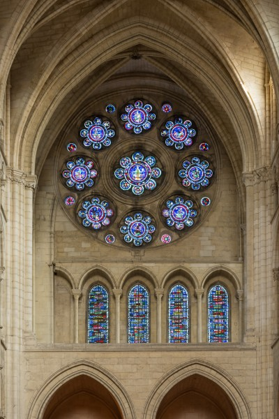 Laon Cathedral North Rose Window 01