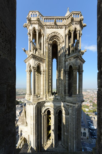 Laon Cathedral Northwest Tower 01