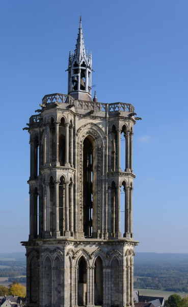 Laon Cathedral Southeast Tower 01