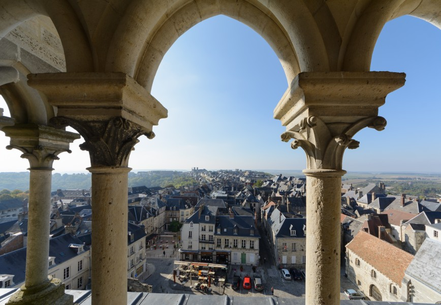 Laon Cathedral View from Gallery 01