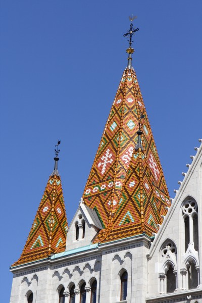 Matthias Church Budapest Roof Tiles