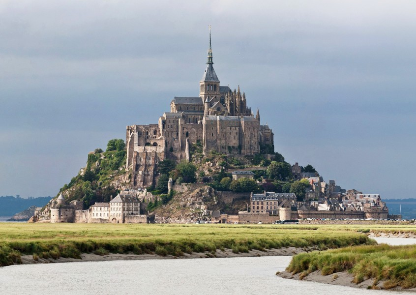 Mont St Michel 3, Brittany, France - July 2011