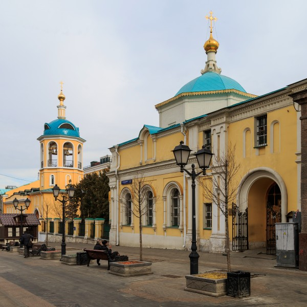 Moscow Church in Stoleshnikov Lane 03-2016