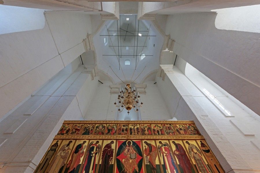 Moscow Kolomenskoe Ascension Church interior 08-2016 img3