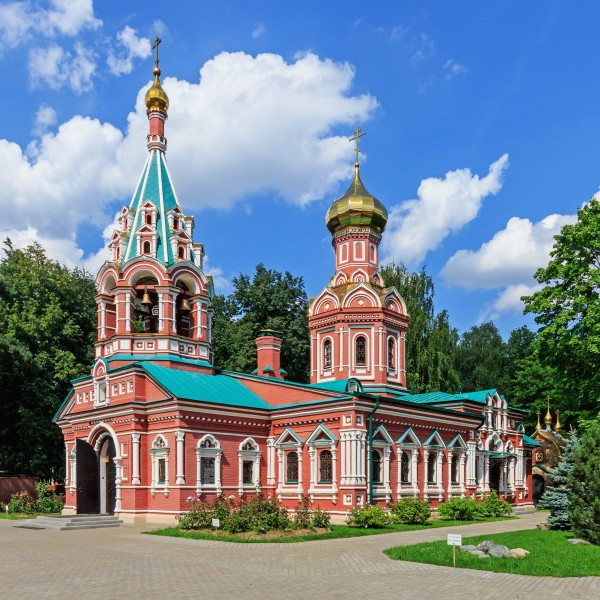 MosOblast Krasnogorsk Church of Theotokos of the Sign 08-2016