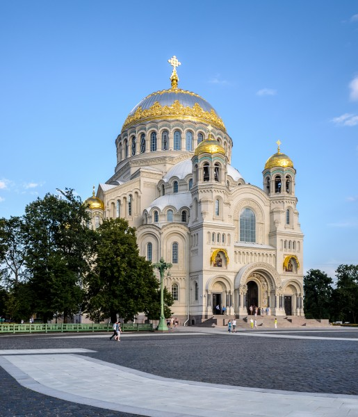 Naval Cathedral of St Nicholas in Kronstadt 03
