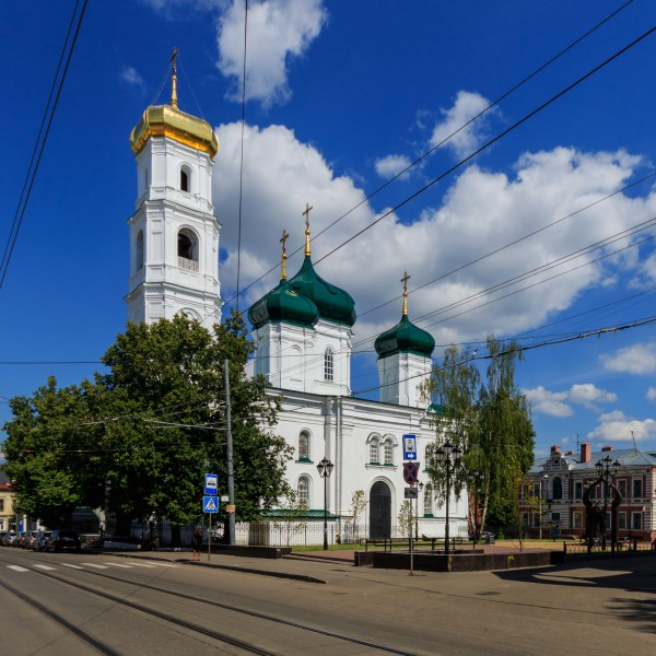 NN Ilyinskaya Street Ascension Church 08-2016