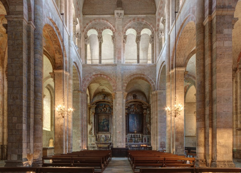 North transepts - Basilique Saint-Sernin - fixed perspective (cropped)