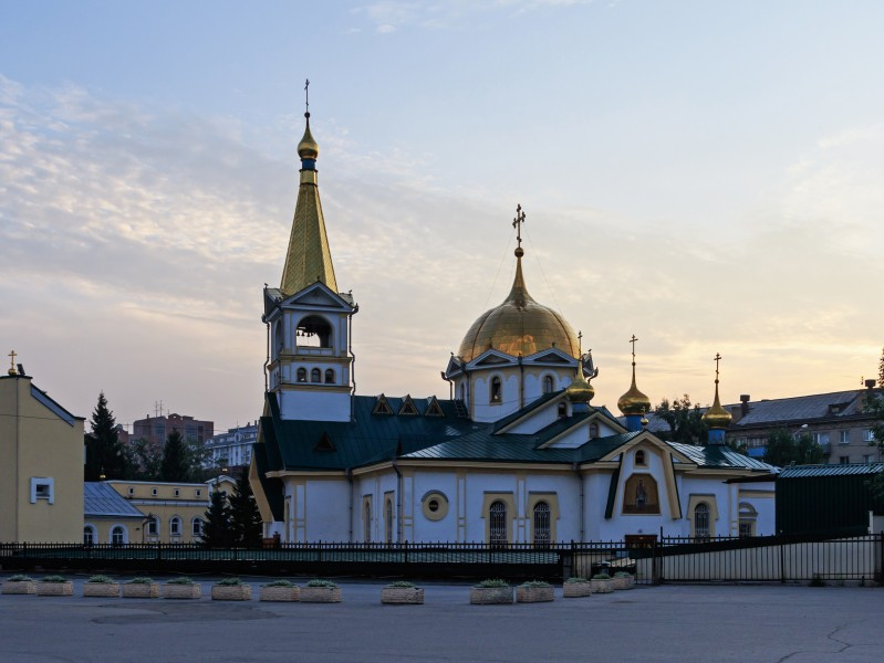 Novosibirsk Ascension Cathedral 07-2016 img1