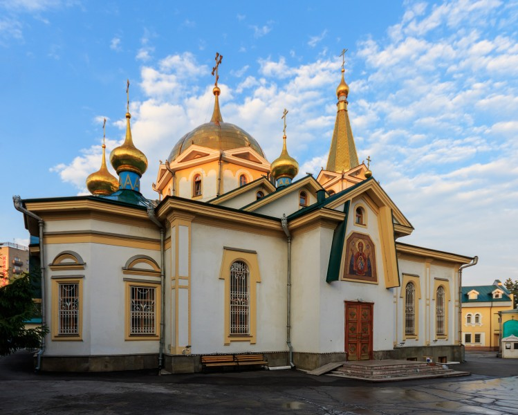 Novosibirsk Ascension Cathedral 07-2016 img2