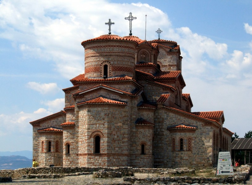 Ohrid - Church of St. Kliment & St. Panteleymo (by Pudelek)