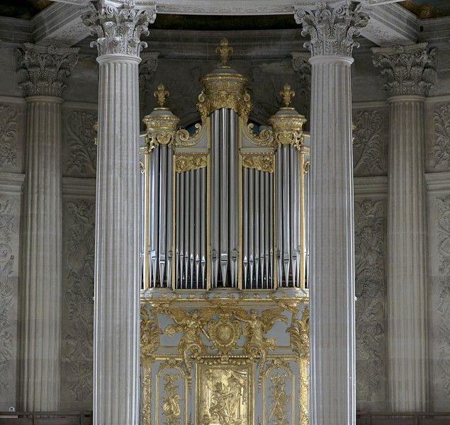 Organ chapel royal Versailles