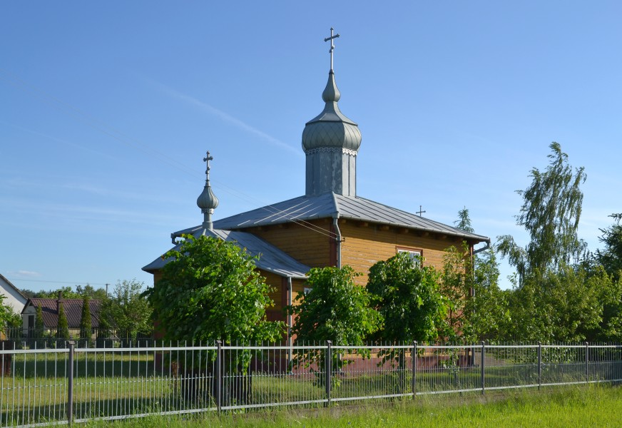 Orthodox church of the Exaltation of the Holy Cross in Dobratycze