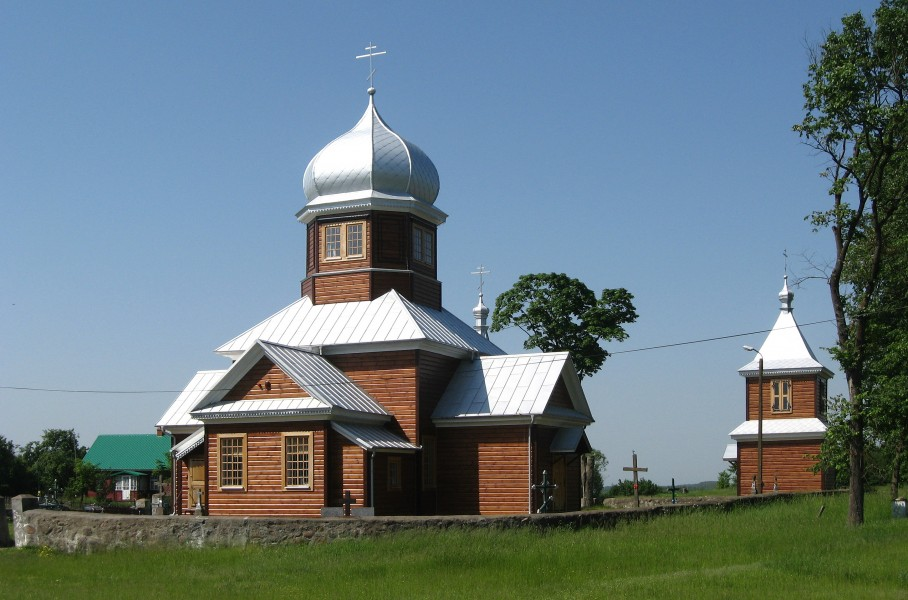 Orthodox church of the Pokrov in Zubacze (Зубачы)